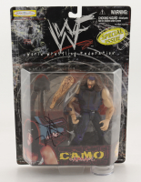 X-Pac Signed WWF Camo Carnage Action Figure (JSA COA) at PristineAuction.com