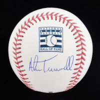 Alan Trammell Signed OML Hall of Fame Logo Baseball (JSA COA) at PristineAuction.com