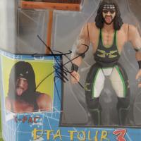 X-Pac Signed WWF DTA Tour 3 Action Figure (JSA COA) at PristineAuction.com