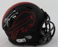 Tremaine Edmunds Signed Bills Eclipse Alternate Speed Mini Helmet (Beckett Hologram) at PristineAuction.com