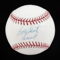"Bobby Shantz Signed OML Baseball Inscribed ""52 AL MVP"" (Tristar Hologram & MLB Hologram) at PristineAuction.com"
