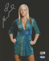 Michelle McCool Signed 8x10 Photo (Steiner Hologram & SportsMemorabilia Hologram) at PristineAuction.com