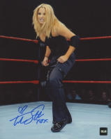 "Trish Stratus Signed WWE 8x10 Photo Inscribed ""XOX"" (COJO COA) at PristineAuction.com"