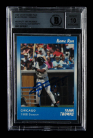 Frank Thomas Signed 1991 The Star Home Run #123 (BGS Encapsulated) at PristineAuction.com