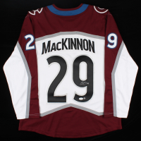 Nathan MacKinnon Signed Avalanche Jersey (JSA COA) at PristineAuction.com