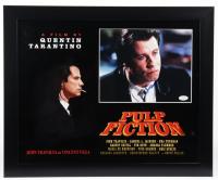 """John Travolta Signed """"Pulp Fiction"""" 18x22 Custom Framed Photo Display (ACOA COA) at PristineAuction.com"""