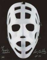 "Les Binkley Signed 8x10 Photo Inscribed ""1st Penguin Goalie"" (COJO COA) at PristineAuction.com"