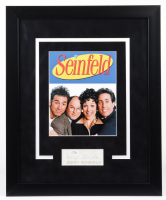 "Jerry Seinfeld Signed ""Seinfeld"" 18x22 Custom Framed Cut Display (ACOA COA) at PristineAuction.com"
