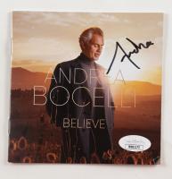 """Andrea Brocelli Signed """"Believe"""" CD Booklet (JSA Hologram) at PristineAuction.com"""