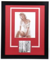 "Taylor Swift Signed ""Folklore"" 18x22 Custom Framed Cut Display (ACOA COA) at PristineAuction.com"