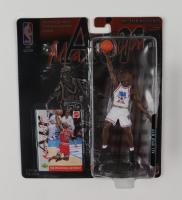 "Michael Jordan LE Mattel ""Air Maximum"" 1996 All-Star MVP Commemorative Series Figurine with Upper Deck Factory Card (See Description) at PristineAuction.com"
