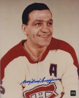 "Bernie ""Boom Boom"" Geoffrion Signed Canadiens 8x10 Photo (COJO COA) at PristineAuction.com"