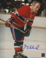 Henri Richard Signed Canadiens 8x10 Photo (COJO COA) at PristineAuction.com