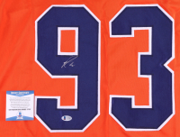 Ryan Nugent-Hopkins Signed Oilers Jersey (Beckett COA) at PristineAuction.com