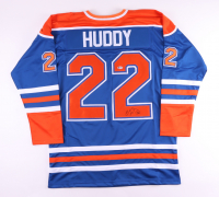Charlie Huddy Signed Jersey (Beckett COA) at PristineAuction.com