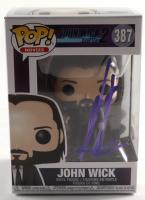 "Keanu Reeves Signed ""John Wick: Chapter 2"" #387 Funko Pop! Vinyl Figure (Beckett Hologram & ACOA Hologram) at PristineAuction.com"
