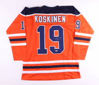 Mikko Koskinen Signed Jersey (Beckett COA) at PristineAuction.com