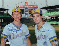 Robin Yount & Paul Molitor Signed Brewers 11x14 Photo (JSA COA) at PristineAuction.com