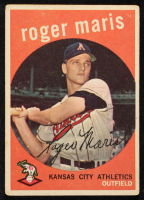 Roger Maris 1959 Topps #202 at PristineAuction.com