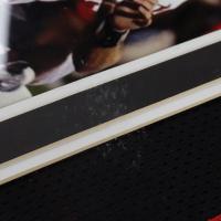 """Kliff Kingsbury Signed 36.5x43 Custom Framed Jersey Display Inscribed """"Guns Up!"""" (JSA COA) (See Description) at PristineAuction.com"""
