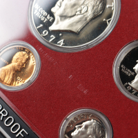 1974 United States Mint Proof Set (See Description) at PristineAuction.com