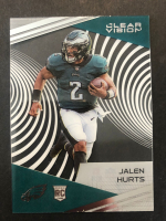 Jalen Hurts 2020 Chronicles Clear Vision #CV22 RC at PristineAuction.com