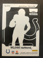 Jonathan Taylor 2020 Chronicles Playoff Momentum SSD #M7 RC at PristineAuction.com