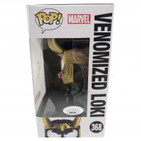 "Tom Hiddleston Signed ""Venom"" #368 Venomized Loki Marvel Funko Pop! Bobble-Head Vinyl Figure (JSA COA) at PristineAuction.com"