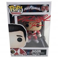 "Austin St. John Signed ""Power Rangers"" #670 Jason Funko Pop! Vinyl Figure Inscribed ""Jason"" (JSA COA) at PristineAuction.com"