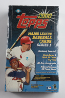2000 Topps Series 1 Baseball Hobby Box of (36) Packs (See Description) at PristineAuction.com