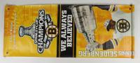 "Dennis Seidenberg Signed Bruins ""2011 Stanley Cup Champions"" 24x59 Banner (Seidenberg COA) (See Description) at PristineAuction.com"