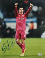 Cristiano Ronaldo Signed Real Madrid 11x14 Photo (PSA COA) at PristineAuction.com