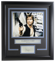Harrison Ford 16.5x18.5 Custom Framed Photo Display at PristineAuction.com
