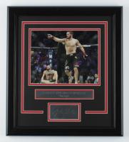 Khabib Nurmagomedov 16.5x18.5 Custom Framed Photo Display at PristineAuction.com