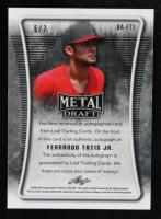 Fernando Tatis Jr. 2020 Leaf Metal Draft Pink Crystals Auto Card #BAFT1 #5/7 at PristineAuction.com