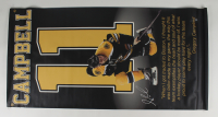 Gregory Campbell Signed Bruins 27x55 Banner (Darling COA) (See Description) at PristineAuction.com