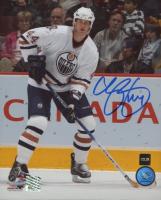 Chris Pronger Signed Oilers 8x10 Photo (COJO COA) at PristineAuction.com