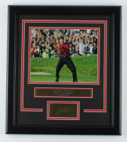 Tiger Woods 16.5x18.5 Custom Framed Photo Display at PristineAuction.com