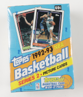 1992-93 Topps Basketball Series 2 Wax Box of (36) Packs at PristineAuction.com