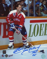 """Rod Langway Signed Capitals 8x10 Photo Inscribed """"HOF 02"""" (COJO COA) at PristineAuction.com"""