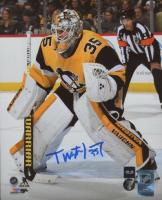 Tristan Jarry Signed Penguins 8x10 Photo (COJO COA) at PristineAuction.com