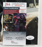 Nathen Maxwell Signed Flogging Molly 12x18 Photo (JSA COA) at PristineAuction.com