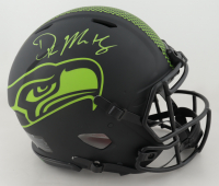 D.K. Metcalf Signed Seahawks Full-Size Authentic On-Field Eclipse Alternate Speed Helmet (Beckett COA) at PristineAuction.com