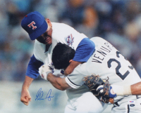Nolan Ryan Signed Rangers 16x20 Photo (PSA COA & Ryan Hologram) at PristineAuction.com