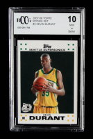 Kevin Durant 2007-08 Topps #2 RC (BCCG 10) at PristineAuction.com