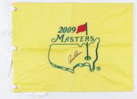 "Arnold Palmer Signed 13"" x 17"" 2009 Masters Golf Pin Flag (JSA ALOA) at PristineAuction.com"