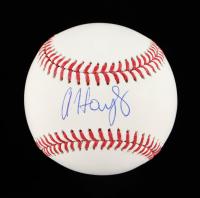Austin Hays Signed OML Baseball (Beckett Hologram) at PristineAuction.com