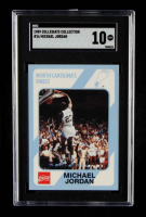 Michael Jordan 1989-90 North Carolina Collegiate Collection #16 (SGC 10) at PristineAuction.com