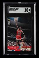 Michael Jordan 1995-96 Collector's Choice #195 PD (SGC 10) at PristineAuction.com