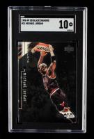 Michael Jordan 1998-99 Black Diamond #11 (SGC 10) at PristineAuction.com